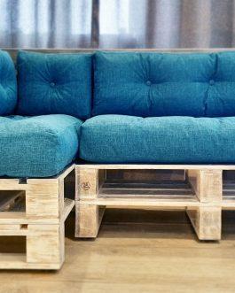 Угловой диван паллет
